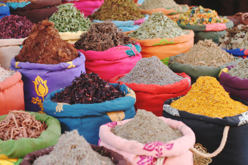 spices souks marrakech