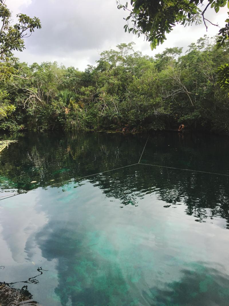 cenote car wash Tulum Mexico