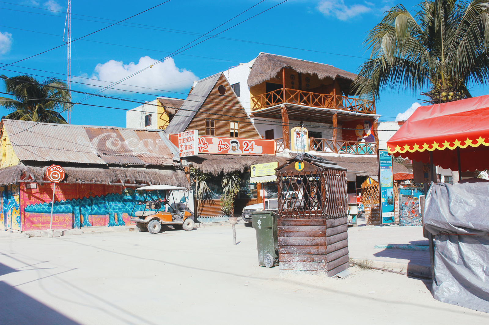 mexico holbox beach town chill