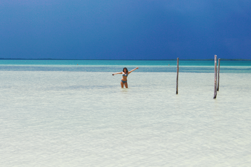 holbox beach water paradise mexico