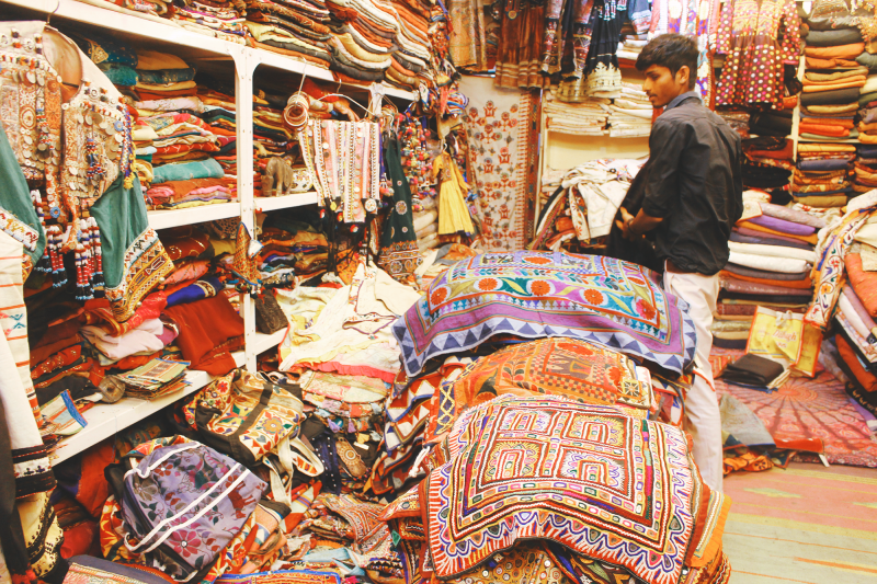shopping shops Udaipur India Rajasthan